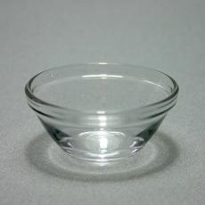 Glasschale, hoch