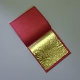 Gold leaf transfer in the book - extra dark