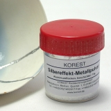 Silver effect metal powder