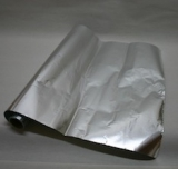 Heat protective film, self-adhesive - for clamping plate